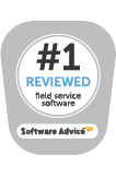 Software Advice #1 Reviewed Field Service Software